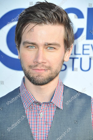 Torrance Coombs arrives at CBS Television Studios Summer Soiree at The London Hotel on in Los Angeles