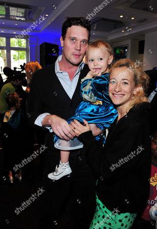 Jack MacDonald, Maggie MaDonald, Leah Wood arrives at Celebrity Screening of Disney-Pixar's Brave at BAFTA on in London