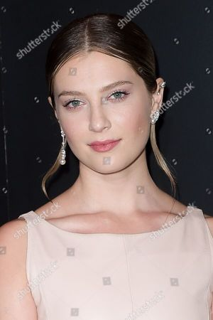 Zoe Levin seen at the Chanel dinner to celebrate new fragrance No.5 Lâ?™EAU with Lily-Rose Depp at Sunset Tower Hotel, in West Hollywood, Calif
