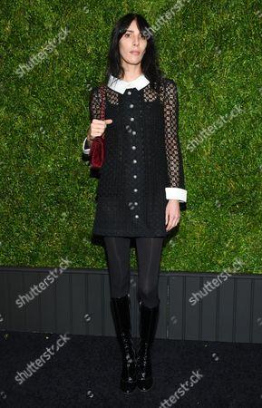 Jamie Bochert attends the CHANEL Tribeca Film Festival Artist Dinner at Balthazar Restaurant, in New York