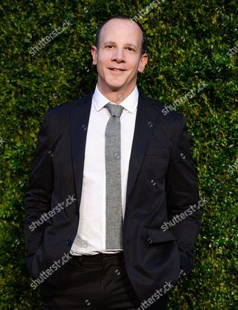 Tribeca Enterprises CEO Andrew Essex attends the CHANEL Tribeca Film Festival Artist Dinner at Balthazar Restaurant, in New York
