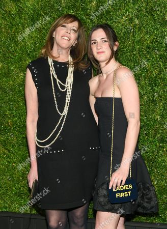 Tribeca Film Festival co-founder Jane Rosenthal and daughter Juliana Hatkoff attend the CHANEL Tribeca Film Festival Artist Dinner at Balthazar Restaurant, in New York