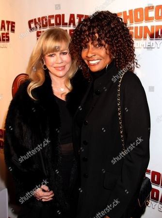Daphna Ziman and Beverly Todd attend Chocolate Sundaes Comedy Show Premiere at The Mark For Events, in Beverly Hills, California. Chocolate Sundaes Comedy Show debuts on Showtime Feb 7, 2013
