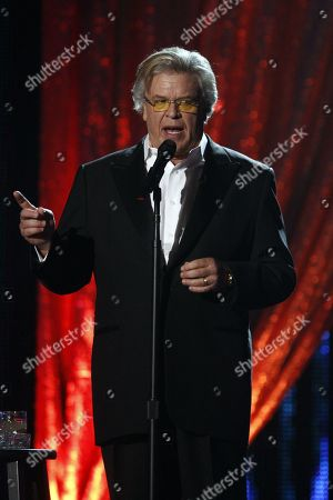 "Comedian Ron White hosts the CMT ""Artists of the Year"" show held at the Music City Center, in Nashville, Tenn"
