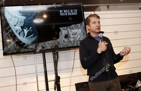Fabien Cousteau, grandson of famed explorer Jacques Cousteau, gave a talk at Collective Cabin on Friday, januray, 17, 2014 in Park City, Ut