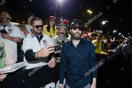 Stock Photo of Wheeler Walker Jr. seen at Columbia Pictures premiere of 'The Brothers Grimsby' at Regency Village Theatre, in Los Angeles, CA