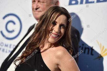 Pattie Mallette arrives at the Comedy Central Roast of Justin Bieber at Sony Pictures Studios, in Culver City, Calif
