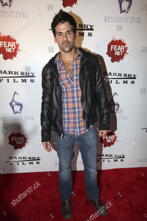 Actor Adam Huss arrives to the Fear Net and Resident Evil Party at Voyeur Nightclub for Comic-Con weekend, in San Diego