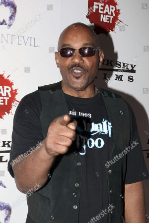 Actor Ken Foree arrives to the Fear Net and Resident Evil Party at Voyeur Nightclub for Comic-Con weekend, in San Diego