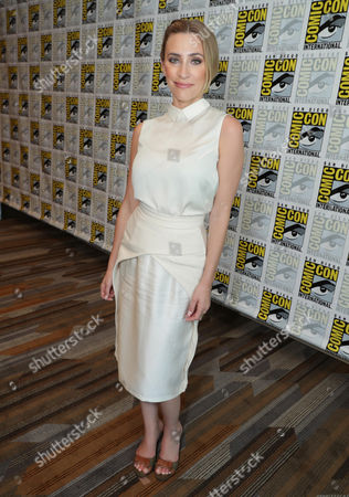 """Stock Picture of Jessica Harmon seen at Crackle's """"Dead Rising: Endgame"""" at 2016 Comic Con, in San Diego, CA"""
