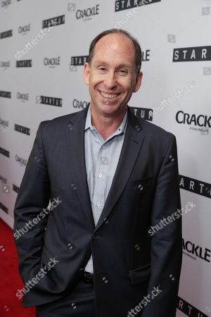 """President of Worldwide Networks, Sony Pictures Television, Andy Kaplan seen at Crackle's """"StartUp"""" Premiere at The London West Hollywood, in Los Angeles, CA"""