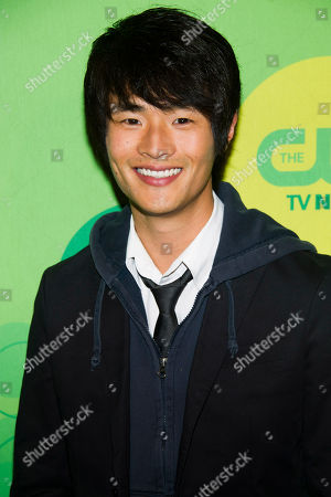 Christopher Larkin attends the CW Upfront on in New York
