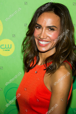 Nina Lisandrello attends the CW Upfront on in New York