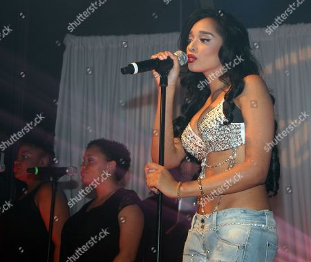 Recording artist Darnaa performs at her Listening Party and Live Performance Event on at Whisky a Go Go in West Hollywood, California