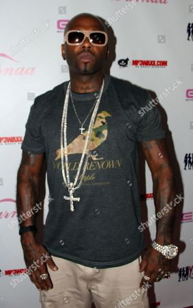 Rapper Treach (Naughty by Nature) pose on the pink carpet at Darnaa's Listening Party and Live Performance Event on at Whisky a Go Go in West Hollywood, California