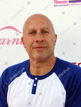 Manager Steve Lobel arrives at Darnaa's Listening Party and Live Performance Event on at Whisky a Go Go in West Hollywood, California