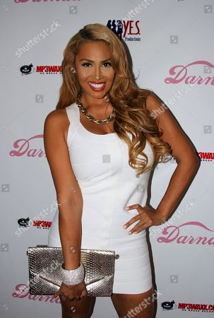 Somaya Reece arrives Darnaa's Listening Party and Live Performance Event on at Whisky a Go Go in West Hollywood, California