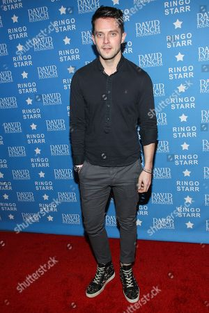 """Musician Eli Lieb attends the David Lynch Foundation Honors Ringo Star """"A Lifetime of Peace & Love"""" event held at the El Rey Theatre on in Los Angeles"""