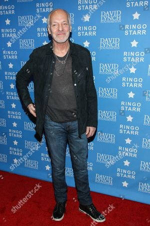 "Musician Peter Frampton attends the David Lynch Foundation Honors Ringo Star ""A Lifetime of Peace & Love"" event held at the El Rey Theatre on in Los Angeles"