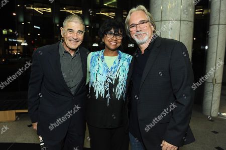 """Robert Forster, Cheryl Boone Isaacs and Dean Parisot attend David Picker's """"Musts, Maybes and Nevers"""" book party on in Los Angeles"""