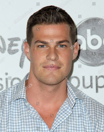 Stock Photo of Greg Finley arrives at the Disney ABC Television Group 2012 Summer Press Tour All-Star Cocktail Reception, in Beverly Hills, Calif
