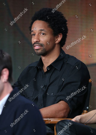 """Stock Picture of Craig Frank participates in the """"Mixology"""" panel discussion at the Disney/ABC Winter 2014 TCA Press Tour on in Pasadena, Calif"""