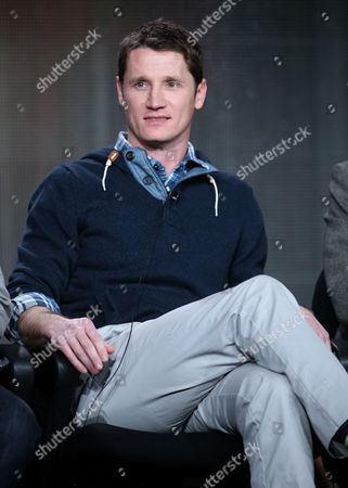 "Stock Picture of Executive producer Kyle Killen participates in the ""Mind Games"" panel discussion at the Disney/ABC Winter 2014 TCA Press Tour on in Pasadena, Calif"