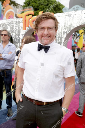 "Rhys Darby seen at DreamWorks Animation and Twentieth Century Fox Present the Los Angeles Premiere of ""Trolls"" at [Regency Village Theatre, in Los Angeles"