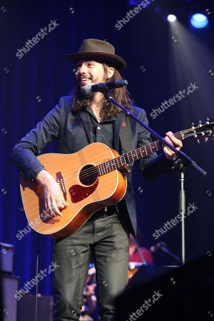 Stock Photo of Artist Cory Chisel performs at the Dylan Fest at Ryman Auditorium, in Nashville, Tenn