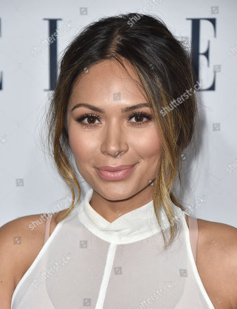 Marianna Hewitt arrives at ELLE's 6th annual Women in Television celebration at the Sunset Tower Hotel, in Los Angeles