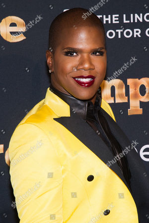 """Lawrence Washington AKA """"Miss Lawrence"""" attends the """"Empire"""" season two premiere on in New York"""