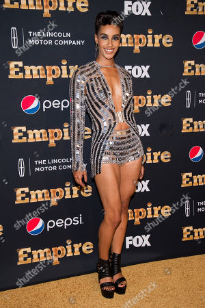 """AzMarie Livingston attends the """"Empire"""" season two premiere on in New York"""