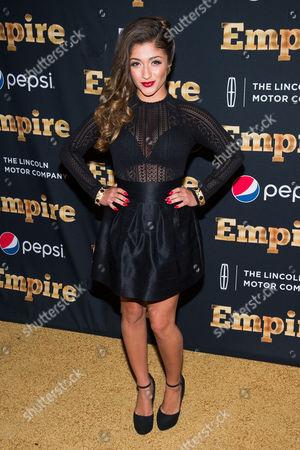 """Raquel Castro attends the """"Empire"""" season two premiere on in New York"""