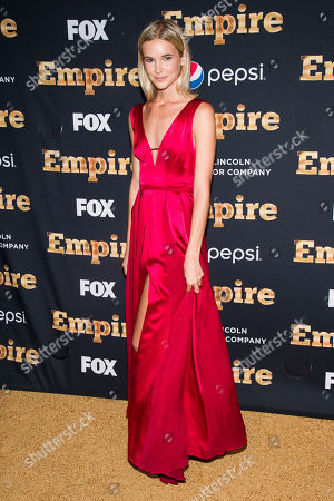 "Stock Image of Taylor Kraemer attends the ""Empire"" season two premiere on in New York"