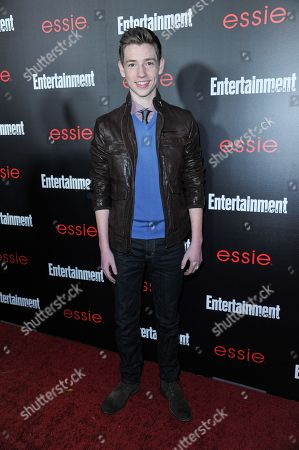 Jackson Pace arrives at the Entertainment Weekly Screen Actors Guild Party at the Chateau Marmont on in Los Angeles