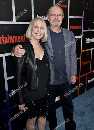 Kurtwood Smith, right, and Joan Pirkle arrive at Entertainment Weekly's Annual Comic-Con Closing Night Celebration at the Hard Rock Hotel, in San Diego