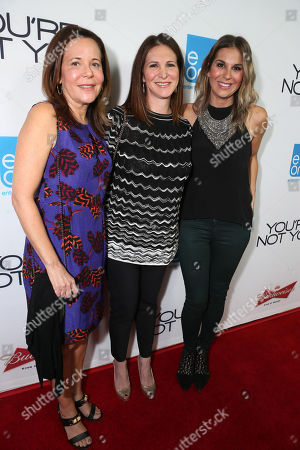 "Producer Denise Di Novi, Producer Alison Greenspan and Producer Molly Smith seen at eOne Films US Premiere of ""You're Not You"" on Wed, in Los Angeles"