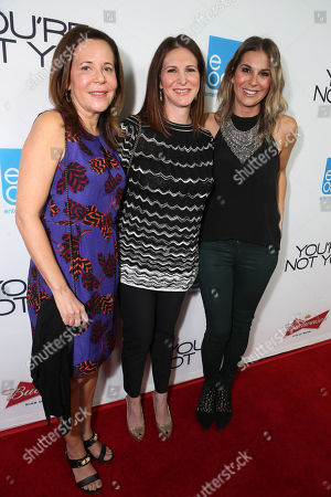"Producer Denise Di Novi, Producer Molly Smith and Producer Alison Greenspan seen at eOne Films US Premiere of ""You're Not You"" on Wed, in Los Angeles"