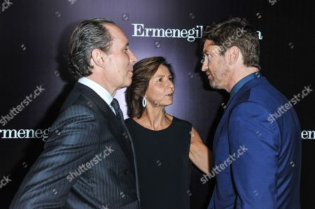 Editorial photo of Ermenegildo Zegna Boutique Opening on Rodeo Drive, Beverly Hills, USA - 7 Nov 2013