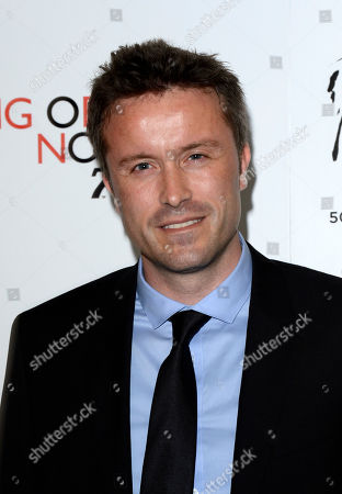 Stevan Riley poses at Everything or Nothing - The Untold Story of 007 at Odeon West End on in London