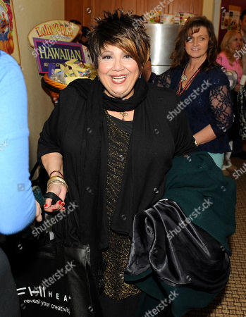 Singer Tata Vega is seen at the Fender Music lodge during the Sundance Film Festival, in Park City, Utah