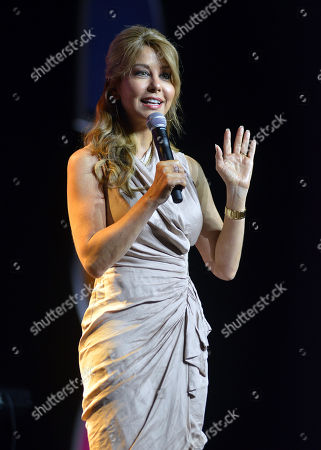 TV personality Myrka Dellanos speaks onstage during Sunday for the Soul at Festival People en Espanol 2013, on at Henry B. Gonzalez Convention Center in San Antonio, Texas