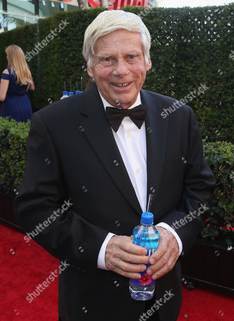 Robert Morse arrives at the 67th Primetime Emmy Awards, at the Microsoft Theater in Los Angeles