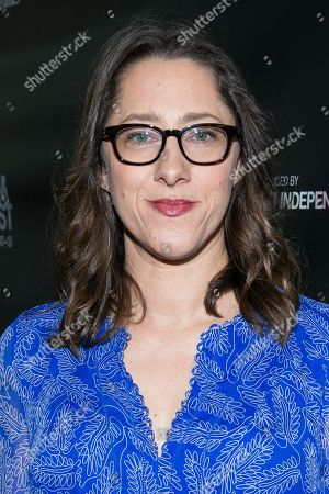 """Maya Forbes attends the Los Angeles Premiere of """"Infinitely Polar Bear"""" held at Regal Cinemas L.A. LIVE, in Los Angeles"""