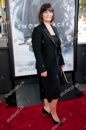 "Amanda Marsalis arrives at the Los Angeles Film Festival Opening Night Gala - ""Snowpiercer"" on in Los Angeles"