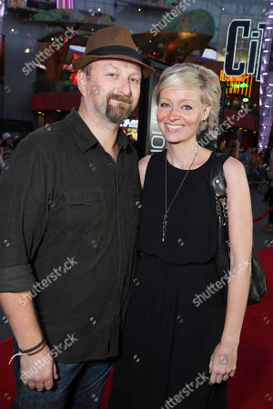 Stock Picture of Neil Marshall and Axelle Carolyn seen at 'Insidious Chapter 2' World Premiere, on Tuesday, Sep, 10, 2013 in Los Angeles
