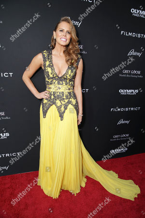 Michelle Celeste at FilmDistrict's Premiere of 'Olympus Has Fallen' hosted by Brioni and Grey Goose at the ArcLight Hollywood, on Monday, March, 18, 2013 in Los Angeles