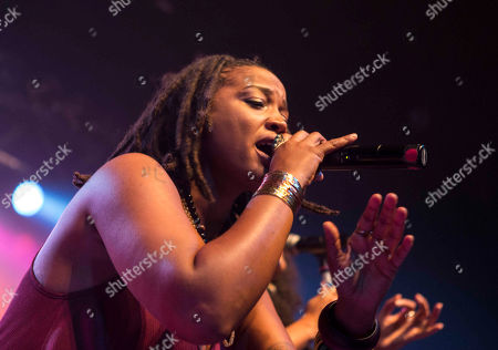 Editorial picture of Floetry Reunion Tour - , Atlanta, USA - 11 Jul 2015