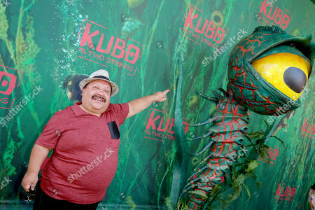 "Chuy Bravo seen at Focus Features Los Angeles Premiere of LAIKA ""Kubo and The Two Strings"", in Universal City, Calif"