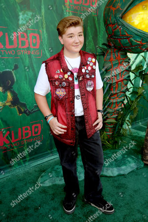 "Zachary Alexander Rice seen at Focus Features Los Angeles Premiere of LAIKA ""Kubo and The Two Strings"", in Universal City, Calif"